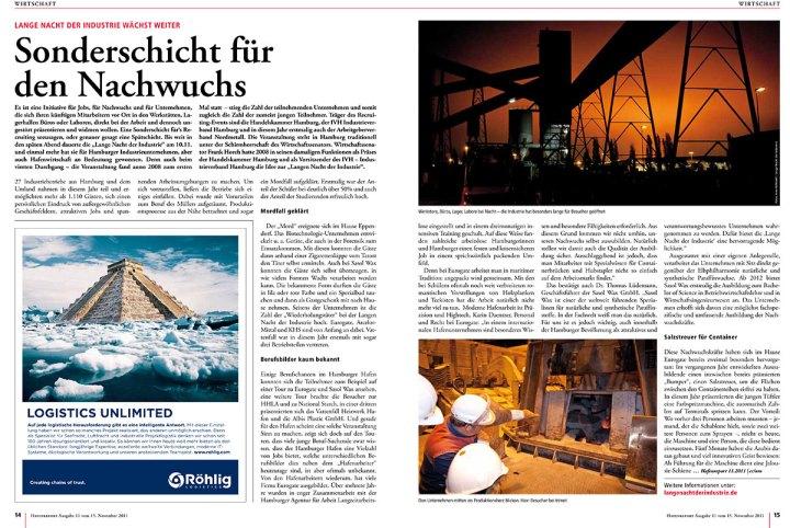 Hafenreport Artikel