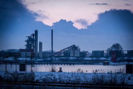 fodis - Industrie am späten Abend