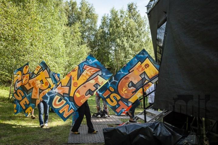 querbeeet - gemeinsames Graffiti