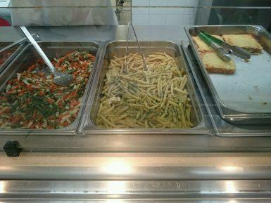 2016.06.20 Plat cordiale de légumes, haricots beuure, croque monsieur