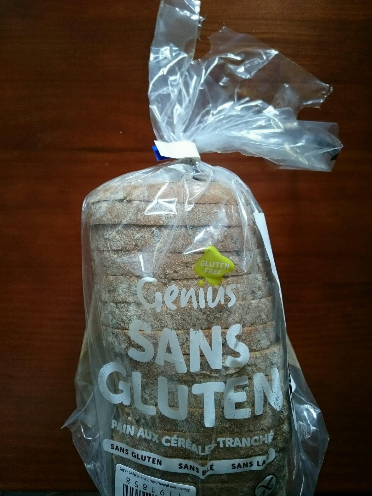 Pain aux céréales sans gluten GENIUS