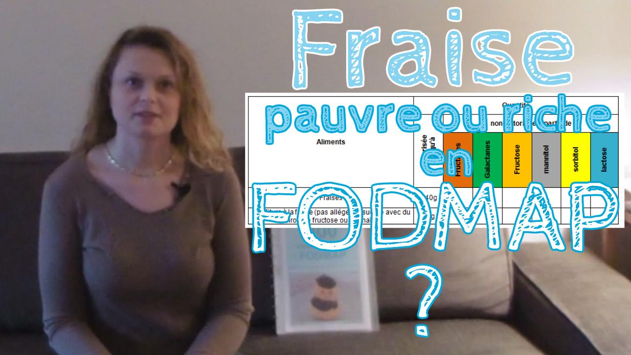 Les fraises sont-elles pauvres ou riches en FODMAP?