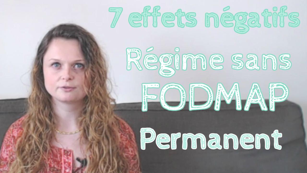 Les 7 effets négatifs du régime sans FODMAP permanent