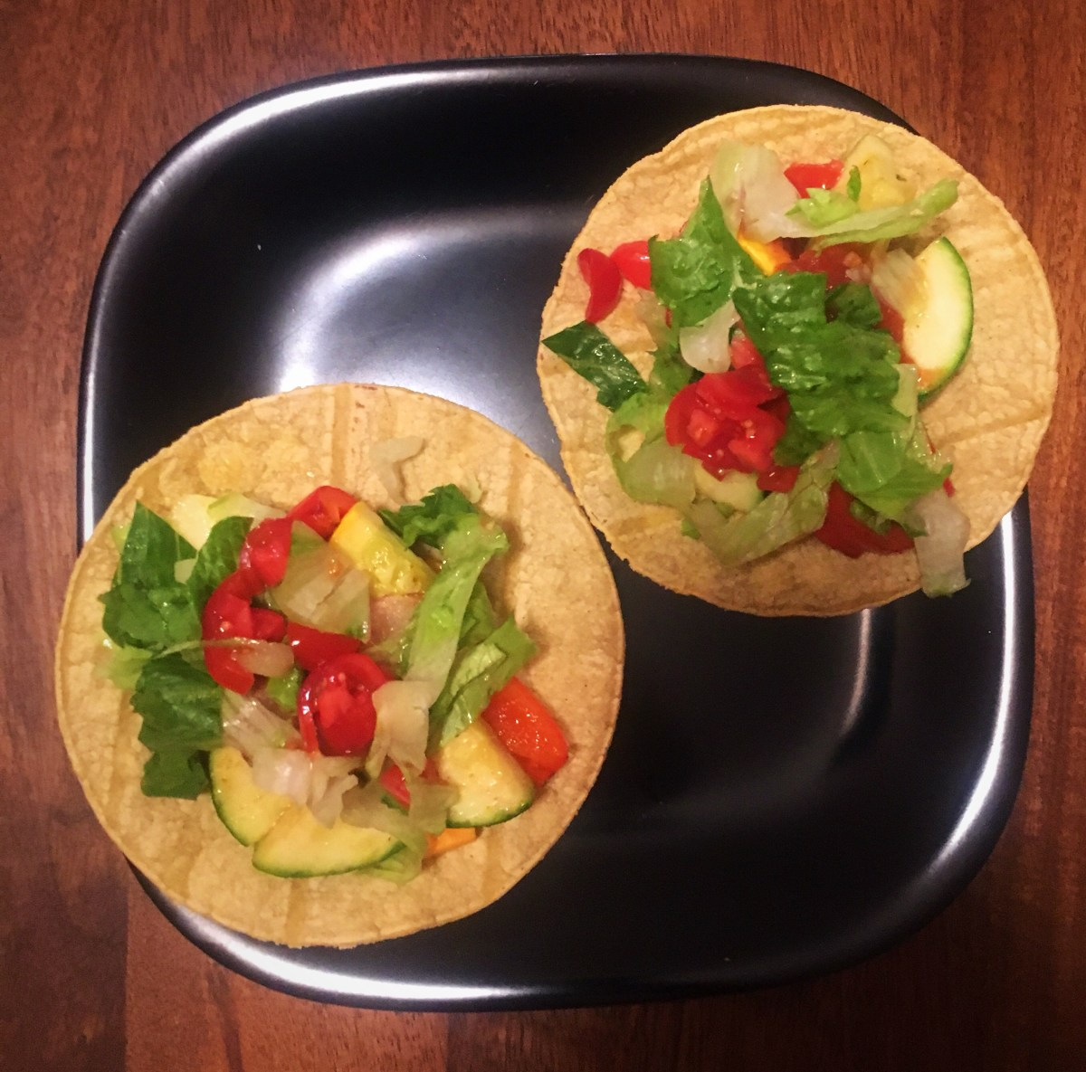 Veggie Tacos and Saying Goodbye to Summer