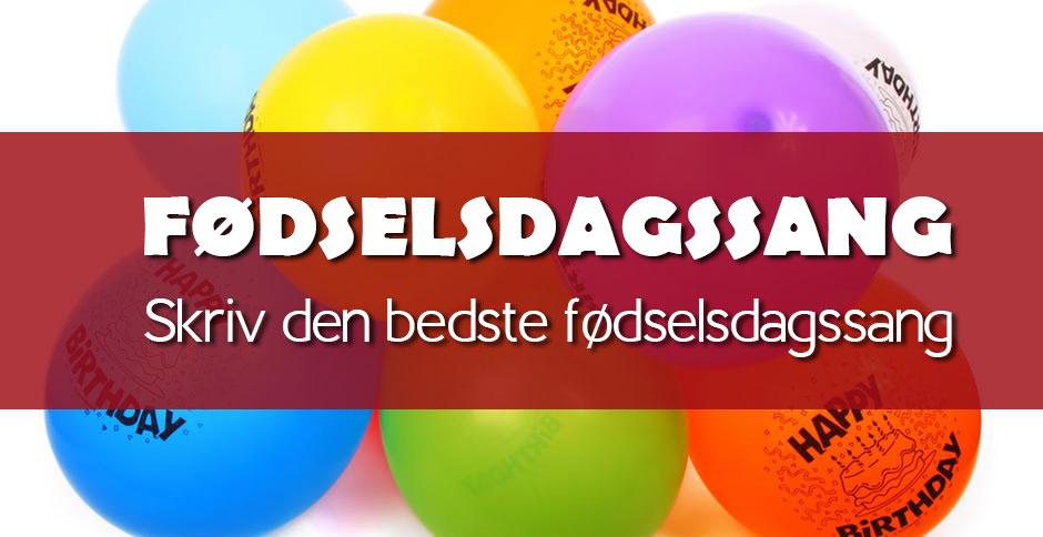 Sjov fødselsdagssang 50 år | Gratis fødselsdagssange. 2020