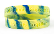 Youth-sized awareness bracelet for FOD and NBS