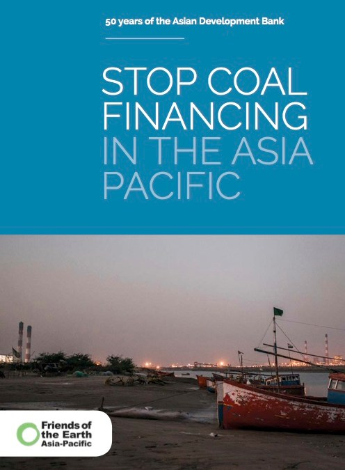Stop Coal Financing in the Asia Pacific