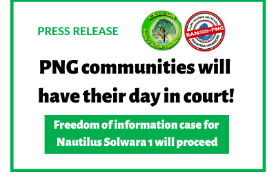 PNG communities will have their day in court!