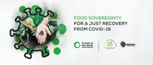 Food Sovereignty for a Just Recovery from COVID-19