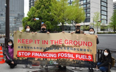 NGOs call on Biden and Suga to take strong leadership on ending public support for fossil fuels