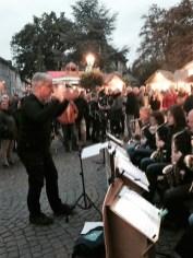 Big Band der Musikschule auf dem Martinimarkt