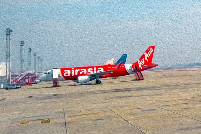 AirAsia - Glitzy, only on the outside