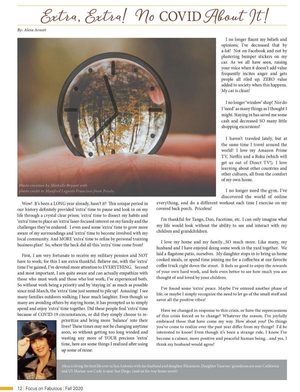 fall 2020 focus on fabulous magazine pg 12