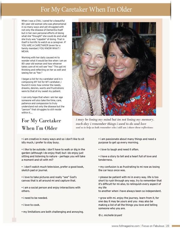 page 23 fof magazine