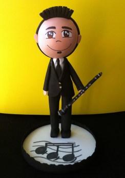 Fofucho Antonio: miembro de orquesta