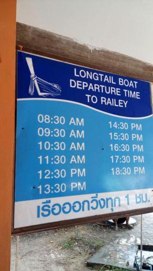 Timetable para o transporte público