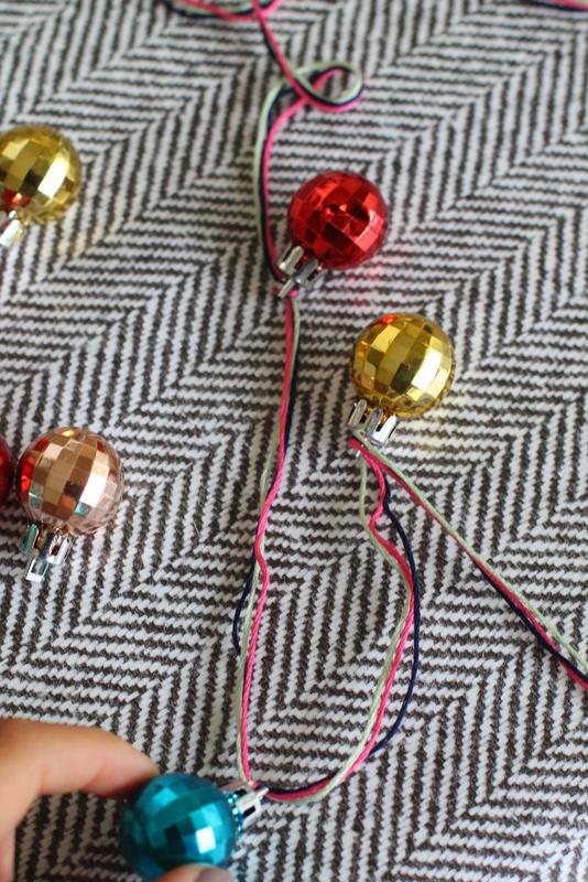 foggy dress christmas garland