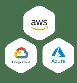 Multi Cloud - AWS, Google Cloud, Azure