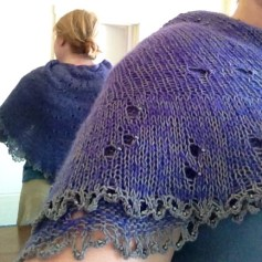knit shawl panda silk pi shawl night sky shawl stars constellations southern skies knitting cashmere