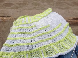 beach knitting rockefeller in progress westknits mkal sylph linen cashmere knitting at the beach places where you can knit