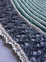 shawl blocking muh muhs knitting taria tweed shawl