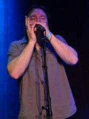 Jeff bathed in plaintive blue