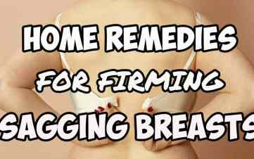 Home Remedies for Breast Lifts