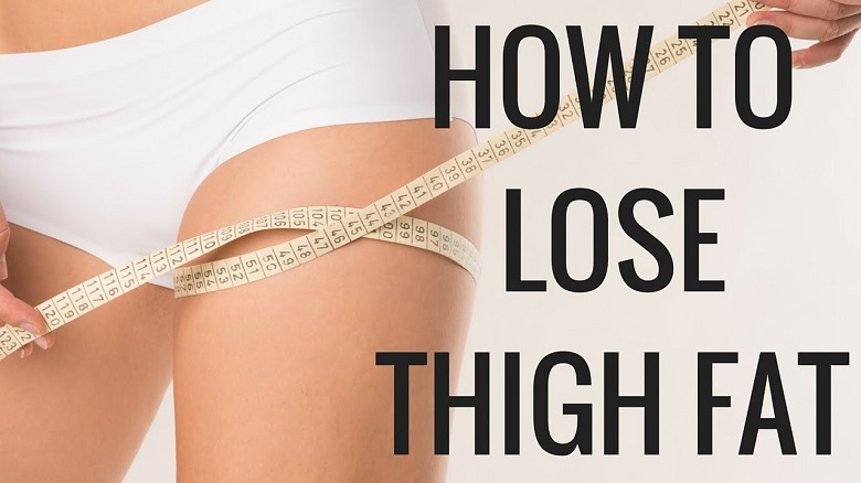 how to lose thigh fat easily