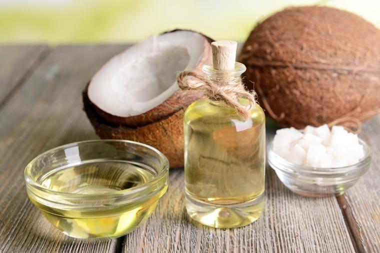 tea tree oil or coconut oil