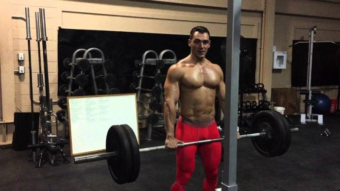 Bent over Barbell Deadlift