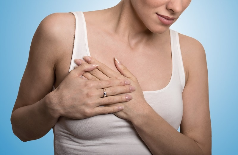 cure sore breast at home