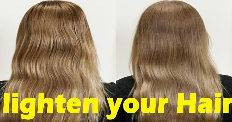 lighten your hair naturally