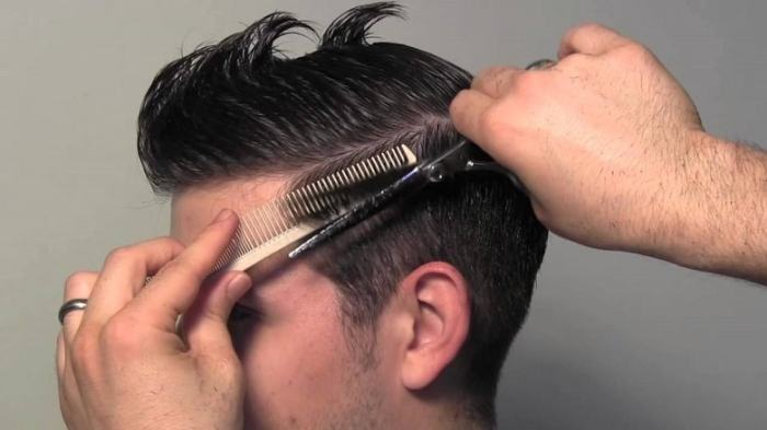 trim hair regularly