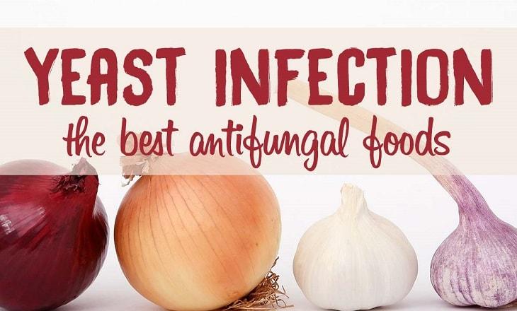 antifungal foods