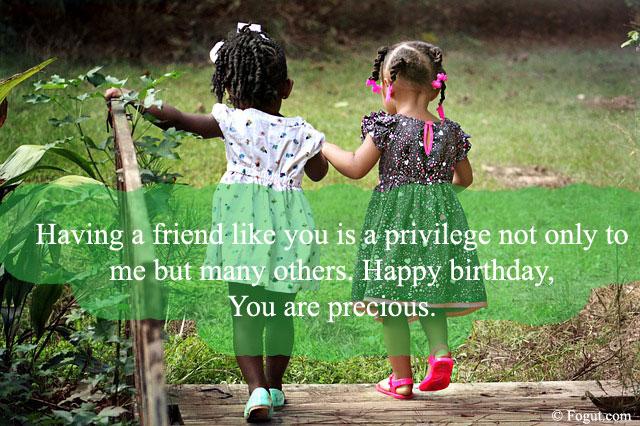 a friend like you is a privilege