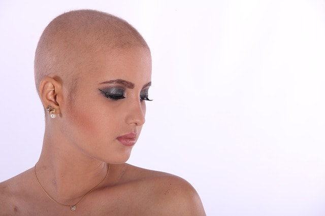 bald female
