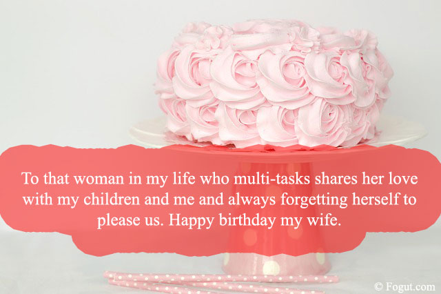 to that woman in my life who multi-tasks shares her love