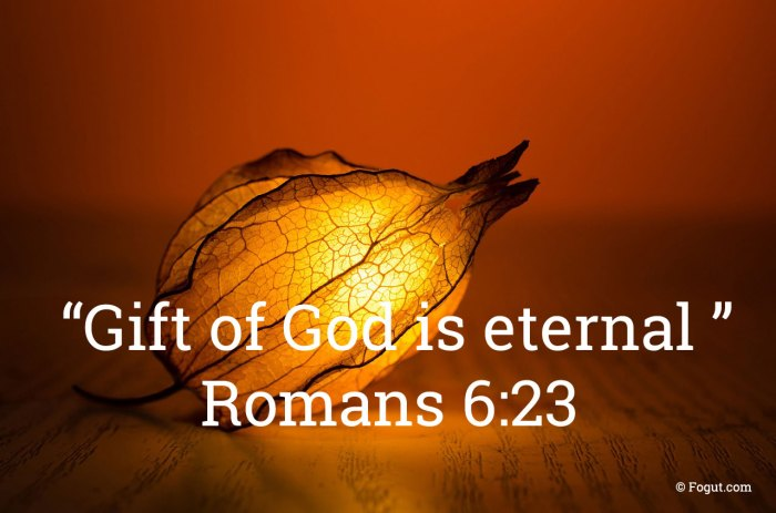 gift of god is eternal