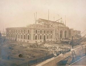 Immigration Building, Ellis Island, 1900 ARC 597954