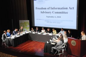 Freedom of Information Act (FOIA) Advisory Committee Meeting