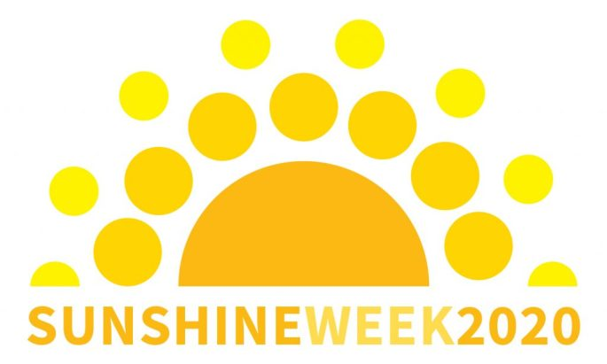 Sunshine Week 2020 logo