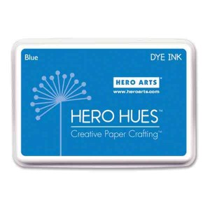 Blue Hero Hues Dye Ink Pad