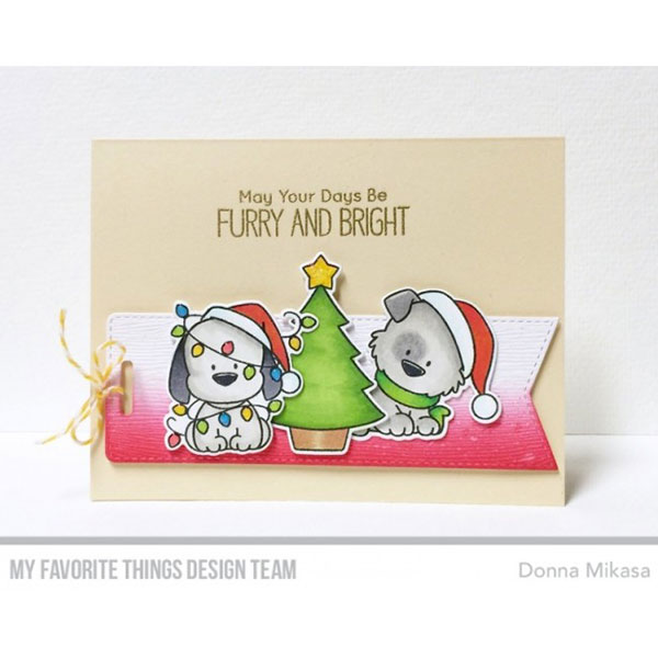 My Favorite Things BB Happy Pawlidays Stamp Set The