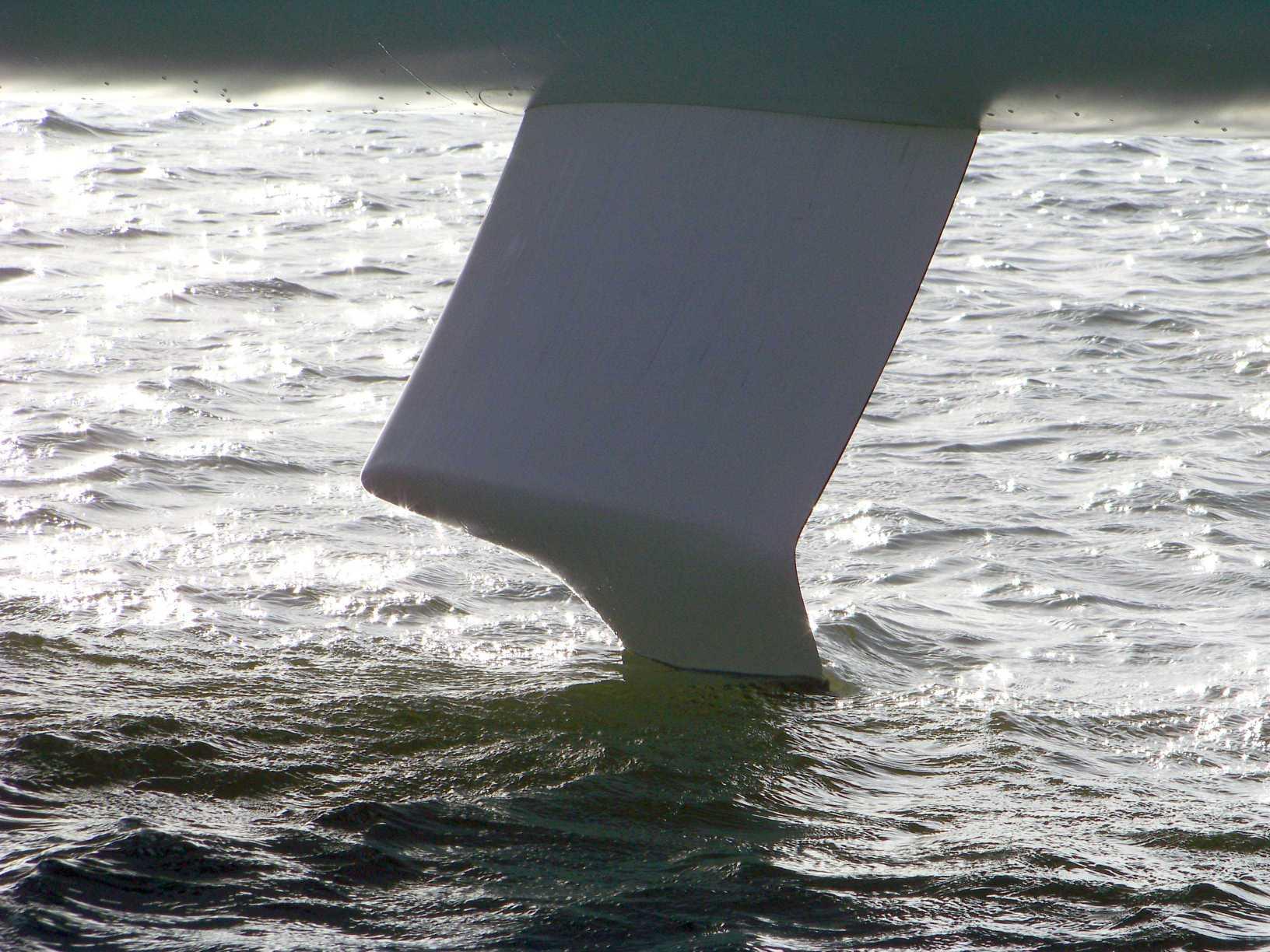 Winglet foil tribord BP V – FM Lorient 11-08