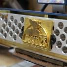 Brass Die on Book Master