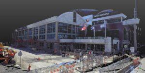 First Niagara Center High Definition Laser Scanning