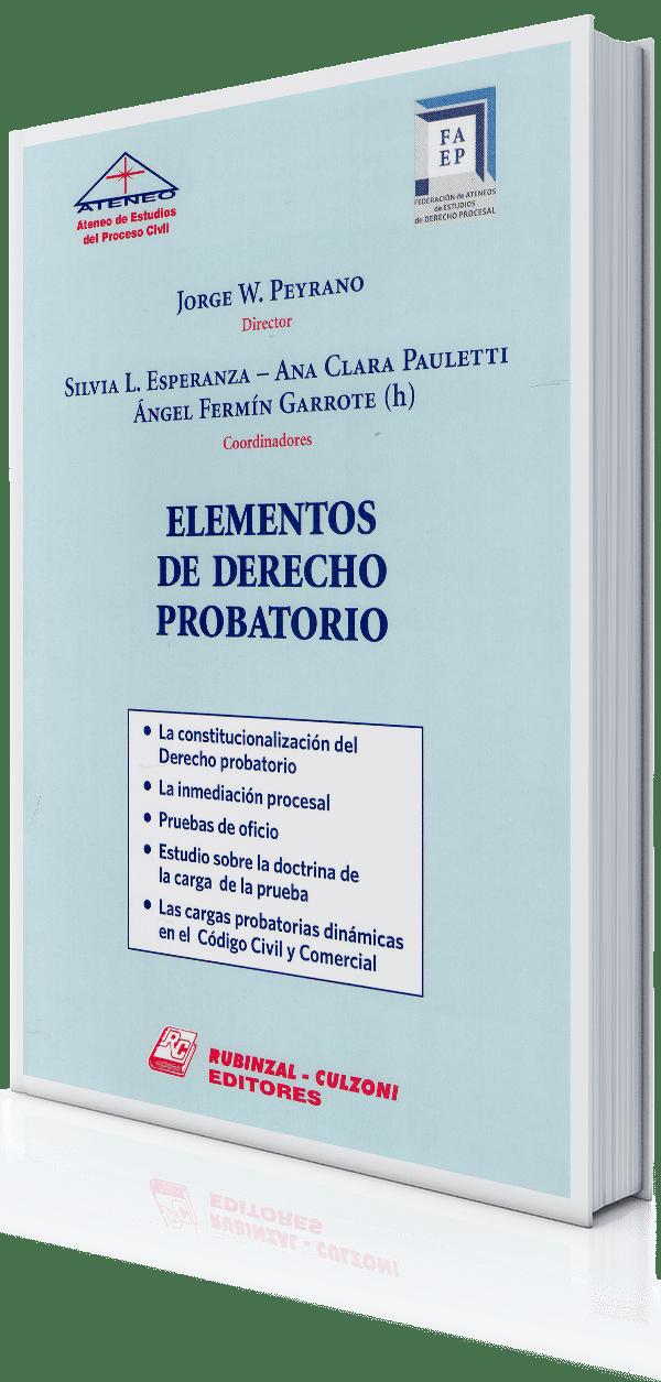 Procesal – Rubinzal – Elementos-de-Derecho-Probatorio