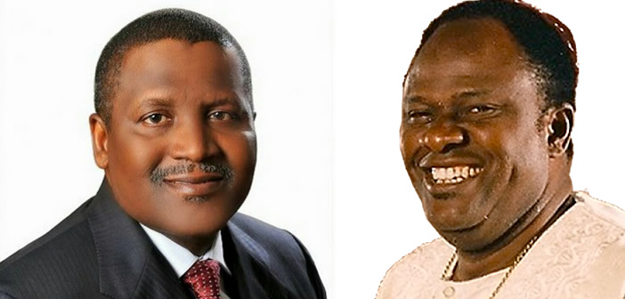 Image result for aliko dangote and the tl osborn connection