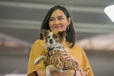 fokopoint-4059 Celebrities and Their Pets Fashion Show