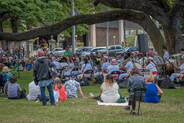 fokopoint-9714 Royal Hawaiian Band at Iolani Palace
